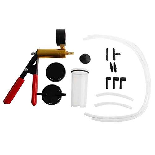 Vosarea Bremsentlüftungskit Universal-Vakuumpumpe Bremsentlüftungs-Prüfgerät-Set Tuner-Tool-Kit