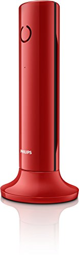 Philips-M3301R23-Telfono-inalmbrico-pantalla-16-retroiluminada-manos-libres-color-rojo