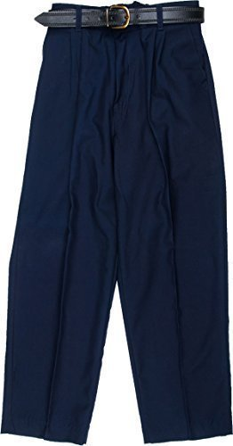 Marine-blau-uniform Hose (Schuluniform Jungen Hose Zip Kleinkinder Hosen Only Uniform® UK - Marine, 38)