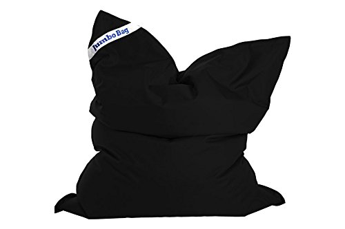Jumbo Bag 30180-01 The Original Coussin Géant Polyester Noir 170 x 130 x 30 cm