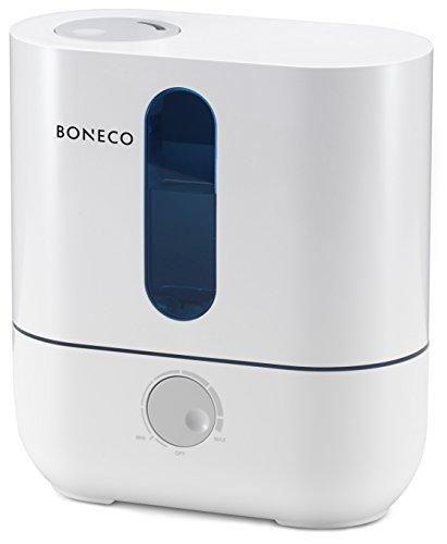 31v6i crTxL - Boneco U200 Ultrasonic Humidifier, 3.5 Litre, 20 W, White, Aluminium, 3.5 liters