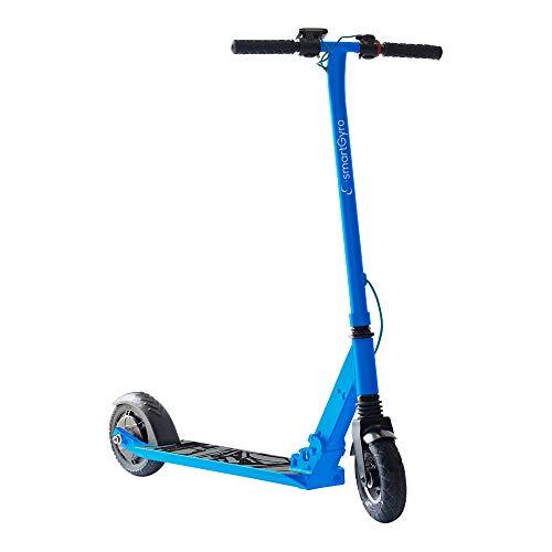 "SMARTGYRO Xtreme XD Blue - Patinete Eléctrico, Ruedas 8\"", 3 Velocidades, Plegable, Ligero, Velocidad 24 Km/h, Autonomía de 15 Km, Freno eléctrico, Scooter Eléctrico, Color Azul"