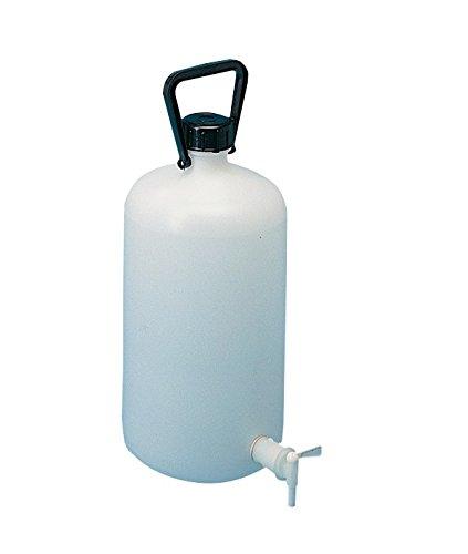 10 Pezzi Neutro Diametro 81 mm 750 ml Lamaplast 184 Spruzzetta in Plastica Canna Curva