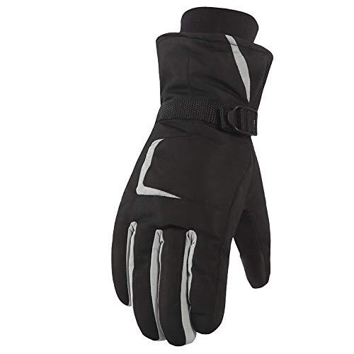 PAMRAY Guanti da Sci Uomo Donna Caldo Guanto Impermeabili Antivento Esterno  da Snowboard Gloves per Ciclismo 2990238909d6