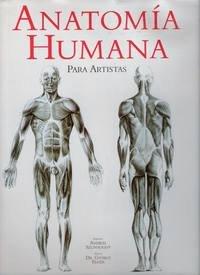 Portada del libro Anatomia humana para artistas