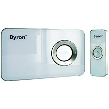 Byron MP001 100m Mp3 Wireless Door Chime with 32 Pre-Loaded Sounds
