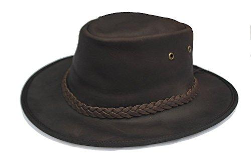 Adventurer en cuir-Marron foncé-Bob-Cotswold Pays chapeaux
