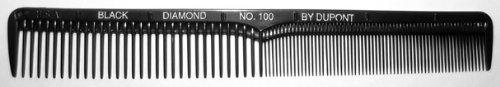 Black Diamond Salon Hairdressing Strong Flexible Dressing Styling Hair Comb