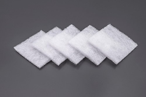 vhbw 5x Staub-Filter für Lüfter, Ventilator, Brandschutzplatte, Innenblende wie Lunos 2/FB