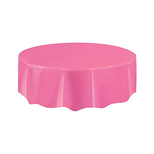 hdecke, 7ft, hot pink, 213 L x 213 W centimeters (Hot Pink Party Supplies)