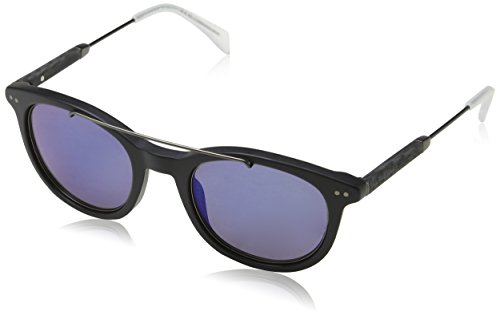 Tommy Hilfiger Herren TH 1348/S XT JU4 49 Sonnenbrille, Schwarz (Bkrut/Blue),