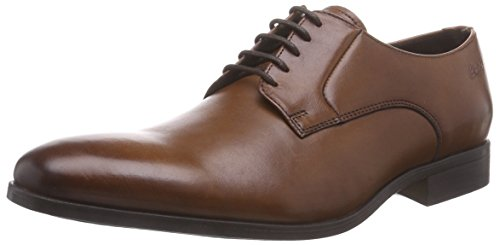 ClarksBanfield Walk - Scarpe stringate uomo, Marrone (Marrone (Tan Leather)), 44.5 EU