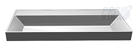 Pelipal Lardo Mineralmarmor-Waschtisch (LD-MMWT-M100) Badmöbel / Weiß / 100 cm
