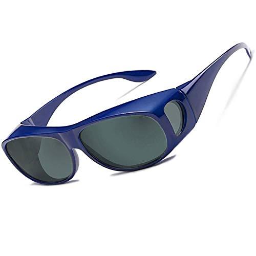 Perfectmiaoxuan Sonnenbrille Polarisiert Unisex Brille Überbrille für Brillenträger,{Sonnenüberbrille über normale Brillen} sunglasses Fit Over Glasses Brille Herren Damen