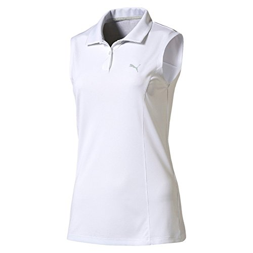 'T-Shirt Golf/Polo 'Pounce Polo sans manches XS blanc