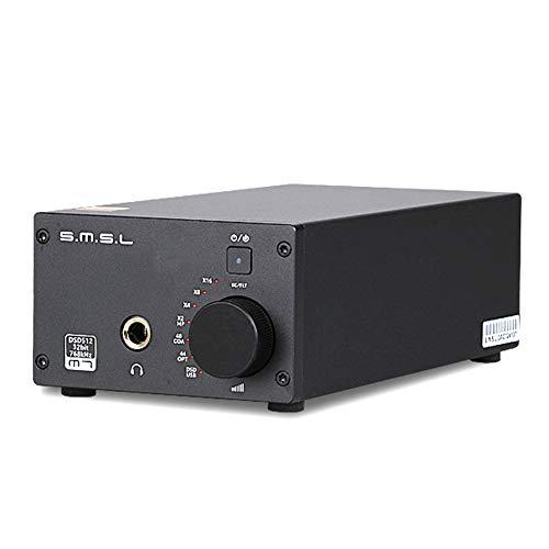 WQGNMJZ Kopfhörerverstärker, Digitaler Leistungsverstärker, Tragbarer Verstärker, M7-Dekodierungs Maschine USB-Faser Koaxial DAC, 220W, Amp-Maschine
