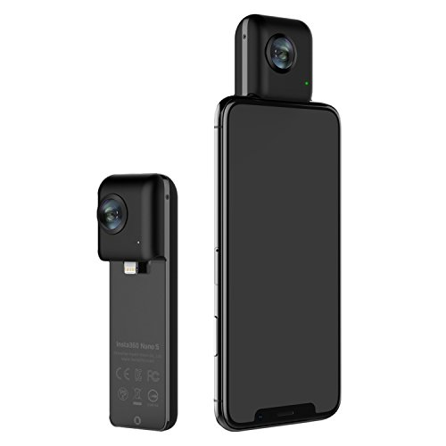Insta360 Nano S hardwrk Edition – Fotocamera 360 gradi per iPhone - Ultra-HD 4K – Certificata Apple Mfi
