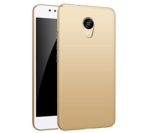 """EIISSION Meizu M5S (5.2"""") Custodia,Ultra sottile che cade superficie protettiva opaca Custodia per Meizu M5S (5.2"""") smartphone ,Oro"""