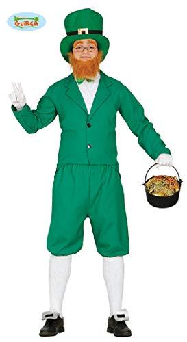 Grünes Leprechaun Kostüm für Herren St. Patricks Day L ()