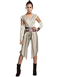 STAR WARS - THE FORCE AWAKENS ~ Rey - Adult Costume Lady : MEDIUM