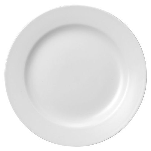 Churchill blanco Classic placa CP9 22,86 cm/23 cm | color blanco clásico plato, Churchill vajilla, plato llano, China, plato, restaurante plato, Hotel platos