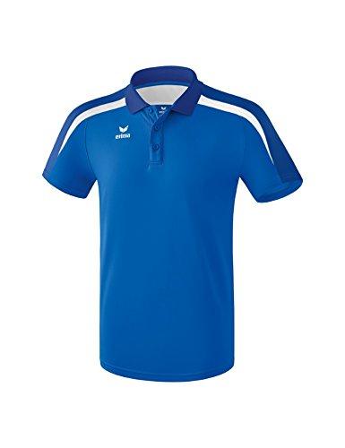Erima Herren Poloshirt, New Royal/True Blue/Weiß, M Preisvergleich