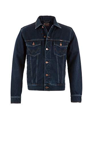 Wrangler Herren Jeansjacke Authentic Western Jacket, blauschwarz, XL