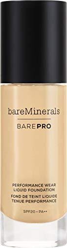 Wear Liquid Foundation (baremineral BarePro Performance Wear Liquid Foundation SPF20 30ml Dawn 02)