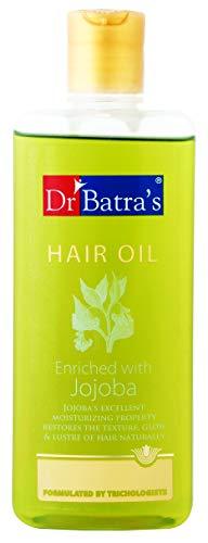 Cheveux huile enrichie du Dr Batra Avec jojoba Texture & Glow Pour poils longs 200ml