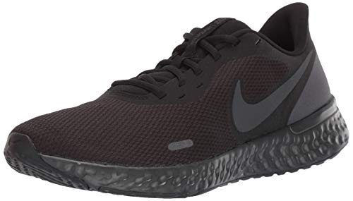 Nike Revolution 5, Zapatillas de Atletismo para Hombre, Multicolor Black/Anthracite 001, 43 EU