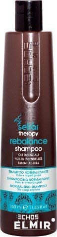 REBALANCE shampooing 350 ml Seliar Therapy® echos Line Oily Scalp & Hair normalizzante peau et cheveux gras