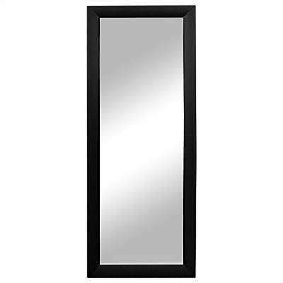 Wandspiegel Flurspiegel Garderobenspiegel Frisierspiegel Barspiegel 131x51cm - Schwarz