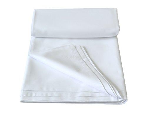 TM MAXX Bettlaken/Haustuch/Tischdecke 100%Baumwolle ohne Gummizug(6 Verschiedene Größe) 150g/140x200cm