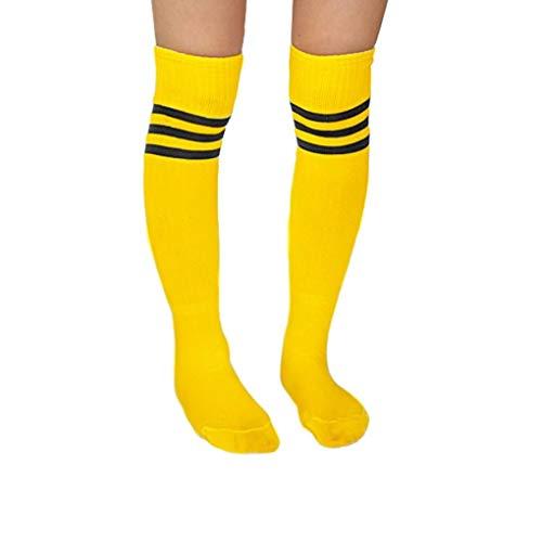 Über Das Kalb, Boot-socken (Ben-gi Frauen der Männer weiche Socken Fußball Baseball Fußball über Knie)