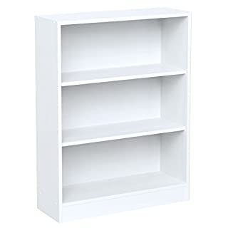 INFINIKIT Haven Petite bibliothèque en bois blanc