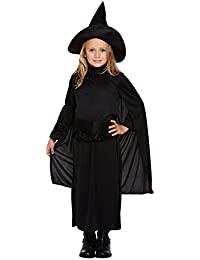 Child Classic Witch Fancy Dress Costume