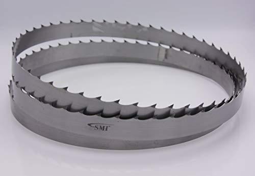 3 x Lenox Woodmaster/® C Holzs/ägeband 3680 x 34 x 1,1 mm mit 1,1 ZpZ f/ür mobile S/ägewerke