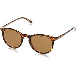 Ralph Lauren Polo 0PH4110, Gafas de Sol para Hombre, Shiny Antique Havana, 50