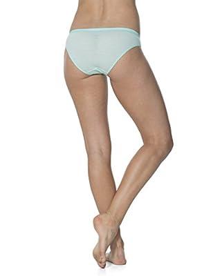 Icebreaker Damen Slip Siren Bikini Stripe