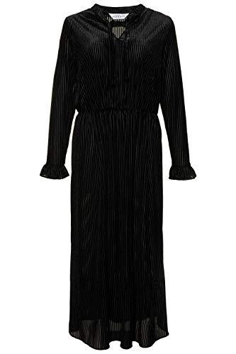 Studio Untold Femme Grandes Tailles Robe Velours Noir 56/58 720026 10-54+