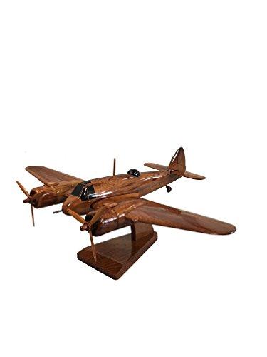 The Wooden Model Company Ltd Bristol Typ 156 Beaufighter Tischmodell aus Holz, Mahagoni Bristol Beaufort Bomber