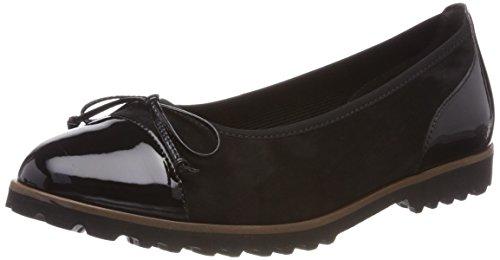 Gabor Shoes Damen Jollys Geschlossene Ballerinas, Schwarz (Cognac), 38 EU
