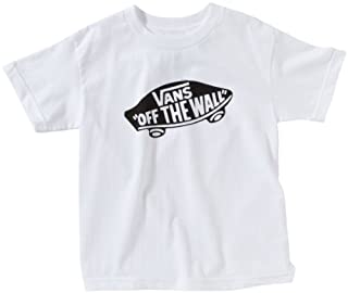 Vans - B OTW BOYS WHITE/BLACK - T-shirt - Garçon - Multicolore (White/Black) - Large (B003VRO3UC) | Amazon Products