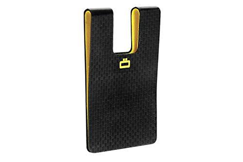Ögon 3C Carbon Card Clip Cartera Ultra Compacta Fibra