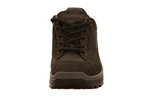 Lowa Renegade GTX L, Stivali da Escursionismo Alti Donna Black / Blackberry