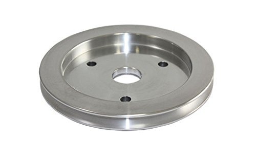 bbc-chevy-396-454-machined-aluminum-swp-single-groove-crankshaft-pulley-by-pirate-mfg