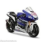 MAISTO 1:18 YAMAHA FACTORY RACING Diecast Motorcycle-BLUE