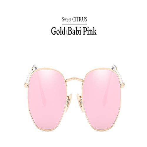 Sport-Sonnenbrillen, Vintage Sonnenbrillen, Hexagonal Sunglasses Men Women Coating Mirror Sun Glasses Vintage Driving Oculos De Sol Masculino 2
