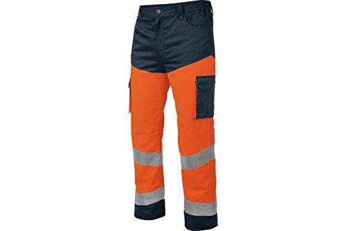MODYF Pantalon de Travail Würth Haute-visibilité Orange/Marine - Taille L