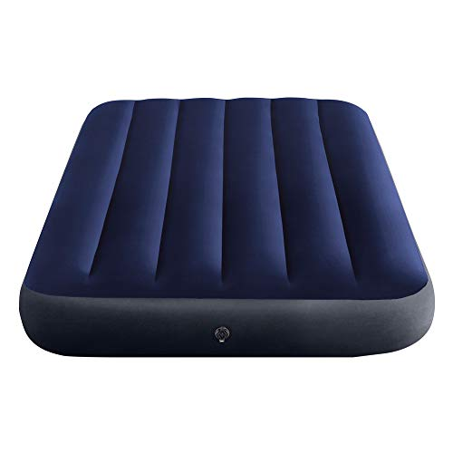 INTEX Classic Downy Blue Dura-Beam Serie Twin Matelas Gonflable Bleu 191 x 99 x 25 cm